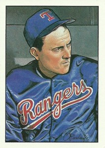 1990 Bowman Baseball Art Card Nolan Ryan