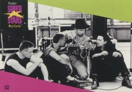 1991 Pro Set SuperStars MusiCards U2