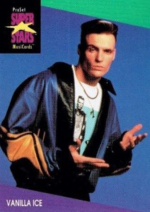 1991 Pro Set SuperStars MusiCards Vanilla Ice