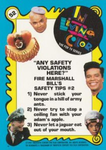 1992 Topps In Living Color Trading Cards 2