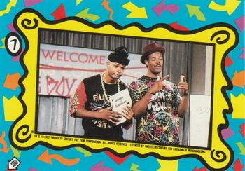 1992 Topps In Living Color Trading Cards 22