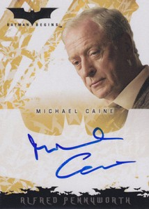 2005 Topps Batman Begins Autographs Michael Caine