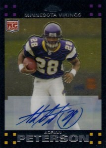 Top 10 Topps Chrome Football Rookie Autographs 7