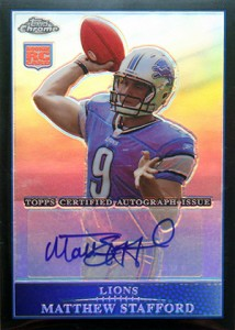 Top 10 Topps Chrome Football Rookie Autographs 4