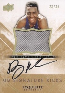 2013-14 Exquisite Collection Basketball Signature Kicks Soles Anfernee Hardaway