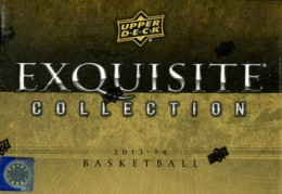 2013-14 Upper Deck Exquisite Basetball Hobby Box