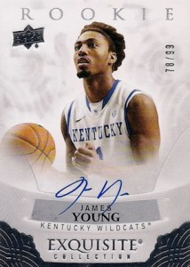 2013-14 Upper Deck Exquisite Collection Basketball 2014-15 Rookie Autographs