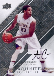 2013-14 Upper Deck Exquisite Collection Basketball Rookie Autograph Variation