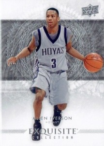 2013-14 Upper Deck Exquisite Collection Basketball base Iverson