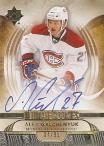 2013-14 Upper Deck Ultimate Collection Alex Galchenyuk RC