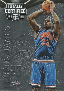 2014-15 Panini Totally Certified Basketball 11 LeBron James