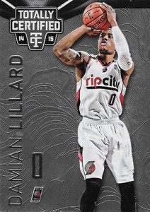 2014-15 Panini Totally Certified Basketball 115 Damian Lillard