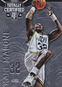 2014-15 Panini Totally Certified Basketball 126 Karl Malone