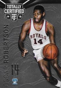 2014-15 Panini Totally Certified Basketball 128 Oscar Robertson