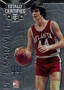2014-15 Panini Totally Certified Basketball 136 Pete Maravich