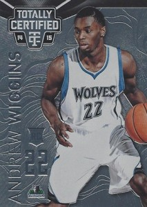 2014-15 Panini Totally Certified Basketball 141 Andrew Wiggins