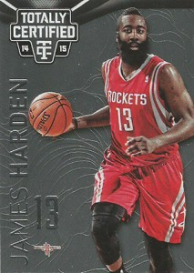 2014-15 Panini Totally Certified Basketball 47 James Harden