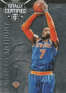 2014-15 Panini Totally Certified Basketball 62 Carmelo Anthony