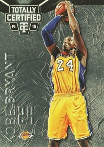 2014-15 Panini Totally Certified Basketball 66 Kobe Bryant