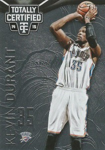 2014-15 Panini Totally Certified Basketball 96 Kevin Durant