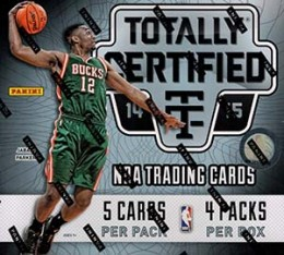 2014-15 Panini Totally Certified Basketball Hobby Box