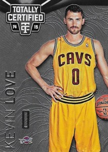 2014-15 Panini Totally Certified Basketball Variations 104 Kevin Love