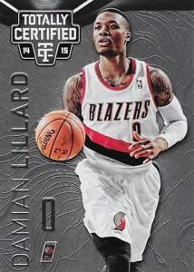 2014-15 Panini Totally Certified Basketball Variations 115 Damian Lillard
