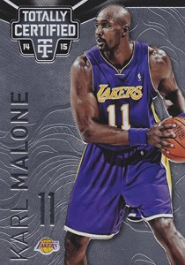 2014-15 Panini Totally Certified Basketball Variations 126 Karl Malone