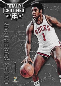 2014-15 Panini Totally Certified Basketball Variations 128 Oscar Robertson