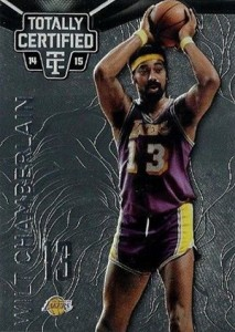 2014-15 Panini Totally Certified Basketball Variations 132 Wilt Chamberlain