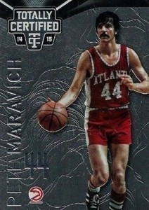 2014-15 Panini Totally Certified Basketball Variations 136 Pete Maravich