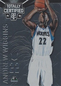 2014-15 Panini Totally Certified Basketball Variations 141 Andrew Wiggins