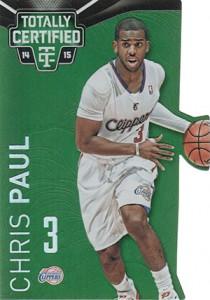 2014-15 Panini Totally Certified Basketball Variations 33 Chris Paul Green Die-Cut