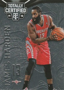 2014-15 Panini Totally Certified Basketball Variations 47 James Harden