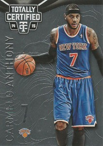 2014-15 Panini Totally Certified Basketball Variations 62 Carmelo Anthony