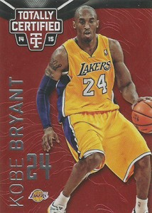 2014-15 Panini Totally Certified Basketball Variations 66 Kobe Bryant Red