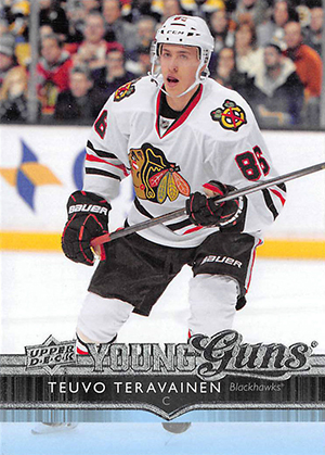 Teuvo Teravainen Rookie Cards Checklist and Guide 1