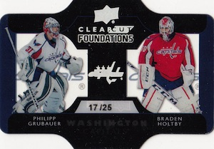 2014-15 Upper Deck Series 1 Hockey Clear Cut Foundations