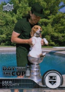 2014-15 Upper Deck Series 1 Hockey Day with the Cup