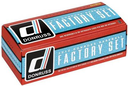 2014 Donruss Baseball Factory Set 3