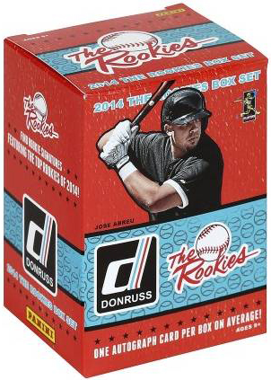 2014 Donruss The Rookies Baseball Boxed Set 3
