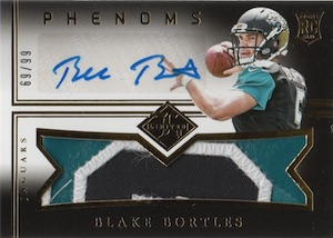 2014 Limited Blake Bortles RC #192 Autographed Jersey