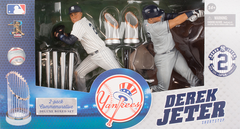 2014 McFarlane MLB Derek Jeter Commemorative Figure Two-Pack 2