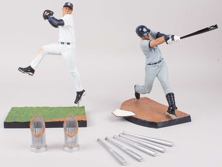 2014 McFarlane MLB Derek Jeter Commemorative Figure Two-Pack 1