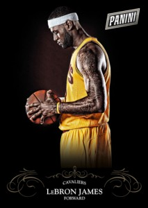 2014 Panini Black Friday Panini Collection LeBron James