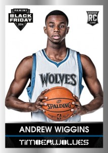 2014 Panini Black Friday Rookie Portraits Andrew Wiggins