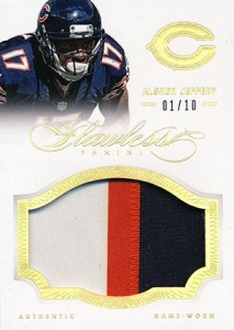 2014 Panini Flawless Football Patch Alshon Jeffery Event Worn