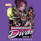 2014 Rittenhouse Marvel Dangerous Divas Series 2 Trading Cards