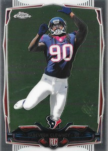 2014 Topps Chrome 120 Jadeveon Clowney