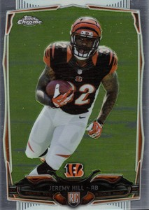 2014 Topps Chrome 125 Jeremy Hill